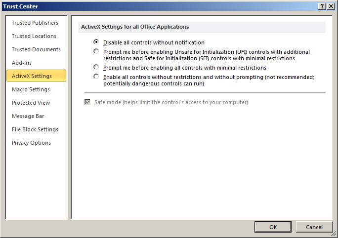 Running Macros via ActiveX Controls | GreyHatHacker NET
